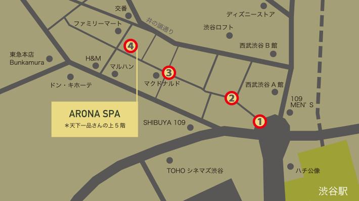 店舗アクセスマップ